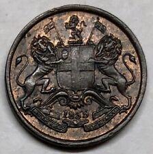 1835 EAST INDIA COMPANY 1/12 ANNA COIN * BETTER GRADE