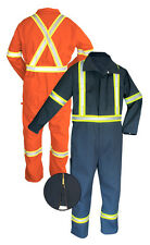 COVERALL HIGH VISIBILITY  POLY/COT ALL SIZES