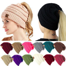 Black, One Size Winter Hats for Women Beanies Knitted Casual Caps Skullies Bone Girls Solid Color Hairball Hat Ladys Keep Warm Wool Hemming Ski Knit New Womens Baggy XGao Knit Hat Women
