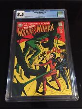 WONDER WOMEN 182 CGC 8.5 CREAM TO OFF HWITE PAGES TIM TRENCH DR CYBER APP