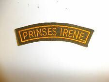 b9530 WW2 Dutch Netherlands Nederland Holland Army Prinses Irene Regiment C9A1