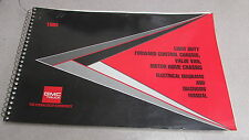 1993 Chevrolet Light Duty Forward Motor Home Electrical Wiring Diagram Manual