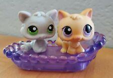 LPS Littlest Pet Shop 2 Authentic Tiny Baby Kittens #248 & 88
