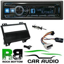 Ford Fiesta 2001 - 2005 Alpine CD USB Bluetooth Car Stereo & Fascia Fitting Kit