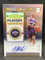 2019 Panini Contenders Playoff Ticket /99 Nickeil Alexander-Walker Auto Centered