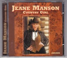 JEANE MANSON - COUNTRY GIRL - RARE ARCADE CD © 1996 FRANCE / CD WIE NEU! IN MINT