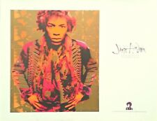 "Jimi Hendrix Exhibition Portfolio - set of 6 12""x17"" prints - 1992 - ss"