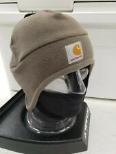 Carhartt Men's Fleece 2 In 1 Hat/Face Mask One Size Driftwood Gray A202