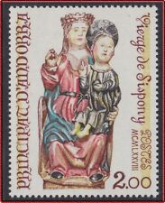 1978 ANDORRE N°271** VIERGE DE SISPONY , French Andorra Art, Religion MNH