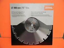 "Stihl Cutoff 16"" Diamond Cutting Wheel Premium Line / 80 Series # 0835 090 2021"