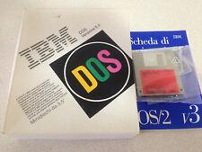 MS-DOS v5.0 + IBM OS/2 Warp - originale - vintage/retrocomputer 1991