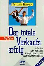 Der totale Verkaufserfolg von Ziglar, Zig   Buch   Zustand gut