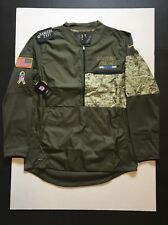 Nike Carolina Panthers Salute to Service STS Hybrid Jacket Mens Size XL