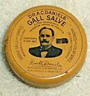 Vtg Dr. A. C. Daniels Horse Gall Salve Tin, Farm Medicine Advertising Veterinary