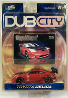 JADA 1/64 DUB CITY IMPORT RACER TOYOTA CELICA NEW 2003 ADULT COLLECTIBLE LTD RED
