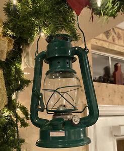 "Vintage Style 10"" Railroad Lantern Decor, New. Kerosene, Lamp Oil, Citronella"