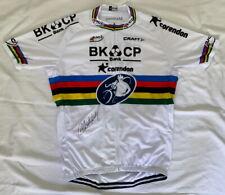 Mathieu van der Poel signed 2015 World Champion BKCP-Corendon cycling jersey CX