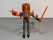 Mego MICRONAUTS Gray & Orange GALACTIC DEFENDER Series 3 Complete w/ Accessories