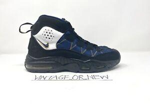 2011 Nike Air Max Trainer '96 Black Obsidian Canyon Gold 446331-007 sz 7.5
