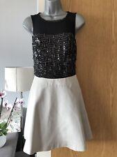 Karen Millen Sequin Occasion Dress Size 8 In VGC