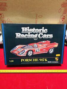 HELLER HISTORIC RACING CAR PORSCHE 917 Scala 1:24 VINTAGE NEW!!!