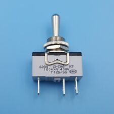 APEM 639H/2 3Pin ON-OFF-ON Metal Lever 3 Gears 12mm SPDT Toggle Switch 10A/400V