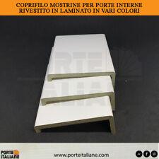Coprifilo mostrine porte interne in legno rivestito in laminato vari colori HDF