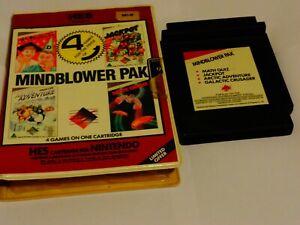 Nintendo NES HES Mindblower Pak 4 in 1 PAL Game