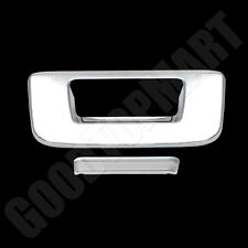 For Gmc Sierra Deluxe 07-13 Chrome Tailgate Cover Without Keyhole