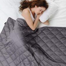 """Weighted Blanket Deep Sleep Reduce Stress Queen Size for Adults 60""""x80"""" 20lb"""