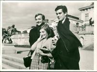 Anya Linden, Graham Usher and Donald MacLeary. - Vintage photograph 2591824