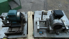 2 X SMALL BENCHTOP METALLURGICAL SAW