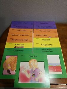 Modern Curriculum Press Phonics Practice/ First Readers Program 15 Book Lot