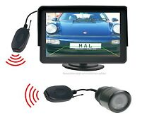 "Installazione telecamera per retromarcia 25 mm Ø, 4.3"" monitor funkübertrager si adatta per Dacia"