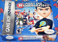 Nintendo Gameboy Advance Walt Disney Meet The Robinsons Game New Sealed NES