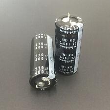 2pcs 270uF 400V Japan Nichicon GN 22x50mm 400V270uF PSU Snap-in Capacitor