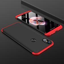 Funda Xiaomi Redmi NOTE 5 PRO 360 Carcasa Coques Case Caso Negra Black Roja Negr
