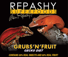 Repashy Grubs N Fruit Gecko Diet 3oz 3oz Reptile Reptiles Crested Insects