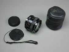 Kiron 24mm f/2 Wide Angle Camera Lens Kino Precision MC Pentax K Mount? NO RES!