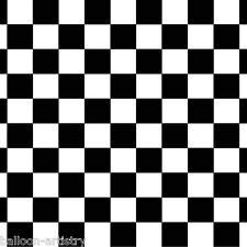 Automóviles de carrera Fiesta Escena Setter Habitación Rollo telón de fondo negro y blanco a cuadros