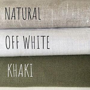 936.NATURAL, 935.OFF WHITE, 934.KHAKI 100% Linen Fabric, Light weight,155cm wide