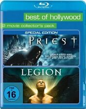 PRIEST + LEGION (Paul Bettany) 2 Blu-ray Discs NEU+OVP