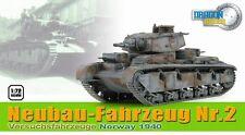 DRAGON ARMOR 1/72  Neubau-Fahrzeug Nr.2 Versuchsfahrzeuge TANK Norway 1940 60598