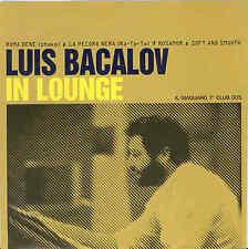 "Luis Bacalov – In Lounge 7"" Giaguaro Records Italian Soundtrack Django"