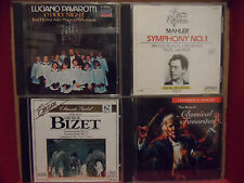 Lot of 4 Classical CD's Used