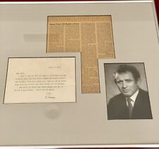 Norman Mailer Signed Letter w/ Photograph & Newspaper & Documention