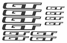 GT Bikes Replacement bike Frame Vinyl Decals Stickers MTB*DIFF COLOURS AVAILABLE
