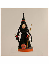 Witch Girl with Broom by Margaret Haire MM2181| Bethany Lowe | Halloween | NOS