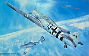 """1/48 WW2 Fighter: Messerschmitt Bf-109G-14/AS """"Peterle"""" [Germany] #48003 :FUJIMI"""