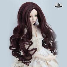 "7-8"" 1/4 BJD Wig MSD Dollfie DREAM curly hair AOD Dod SOOM LUTS DZ Dollmore #105"